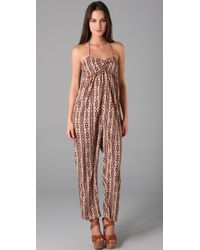 Torn By Ronny Kobo - Natural Maria Jumpsuit - Lyst