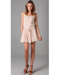 Rebecca Taylor | Natural Sunflower Cami Dress | Lyst