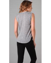 Dolan Gray T-shirt Muscle Tee