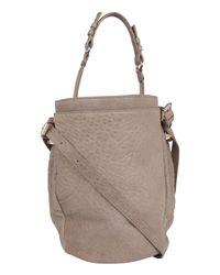 Alexander Wang | Gray Diego Bucket Bag | Lyst