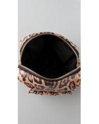 Dolce & Gabbana - Metallic Gilda Ocelot Frame Clutch - Lyst