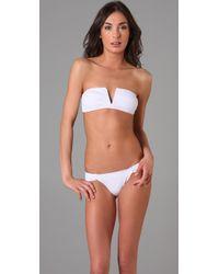 Mara Hoffman | White V Wire Bikini | Lyst