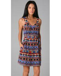 Marc By Marc Jacobs | Blue Frida Flag Print Dress | Lyst