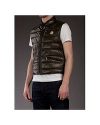Moncler Green Quileted Body Warmer for men