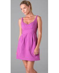 Nanette Lepore | Purple Vacationer Dress | Lyst