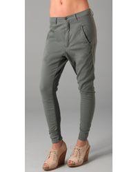 Superfine - Gray Adventure Harem Pants - Lyst
