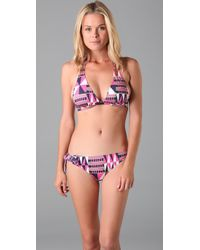 Tibi - Pink Ashanti Bikini Bottoms - Lyst