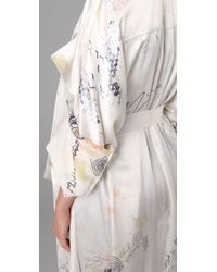 Alexander Wang - White Doodle Print Trench Coat - Lyst