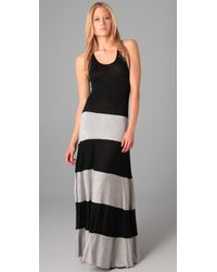 Karina Grimaldi | Black Biscot Long Tank Dress | Lyst
