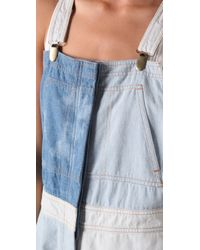 Shakuhachi - Blue Patch Overalls - Lyst