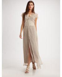 Elizabeth and James | Gray Grace Maxi Dress | Lyst