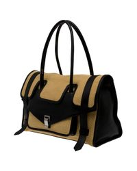 Proenza Schouler - Natural Straw Carry All Bag - Lyst
