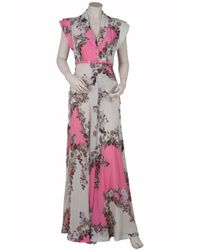 Paul & Joe - Pink Flaubert Floral-print Silk-crepe Maxi Dress - Lyst