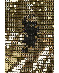 Balmain   Black - Baroque Logo Tank Top - Women - Cotton - 38   Lyst