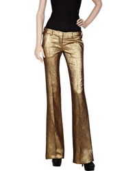 Balmain - Metallic Brocade Trousers - Lyst