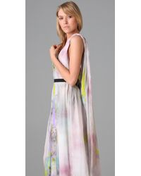 Matthew Williamson | Multicolor Parachute Column Dress | Lyst