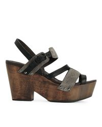 Rag & Bone | Black Royston Wedge | Lyst