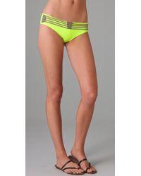 VPL | Yellow Compression Bikini Bottoms | Lyst