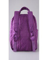 Marc By Marc Jacobs - Purple Pretty Nylon Knapsack - Lyst