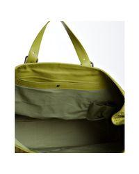 Bottega Veneta - Green Assenzio Woven Leather Large Travel Tote - Lyst