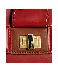 Fendi - Red Silvana Tote - Lyst