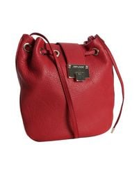 Jimmy Choo | Red Calf Leather Ryad Crossbody Bag | Lyst