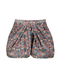 Alldressedup | Multicolor Twisted Cuff Shorts | Lyst