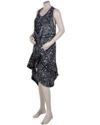 Preen By Thornton Bregazzi - Blue Print Reflect Dress - Lyst
