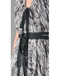 L.A.M.B. - Black Cloud Halter Dress - Lyst