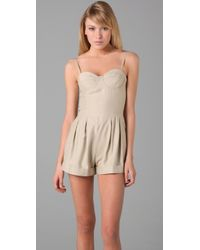 Lover Natural Arabesque Romper