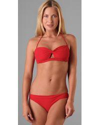 Naelie | Red Gina Cutout Bikini | Lyst