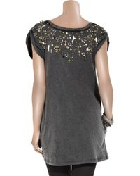 Sass & Bide | Gray Tell Me A Story Charm-embellished Dress | Lyst