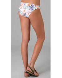 Shoshanna | Multicolor Loop Bikini Bottoms | Lyst