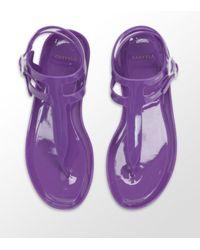 Carvela Kurt Geiger | Kink Jelly Sandals Purple | Lyst