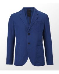 G-Star RAW | Blue Deconstructed Blazer for Men | Lyst
