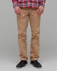 Life After Denim   Green Slim Fit Chino in Summer Weight in Khaki for Men   Lyst