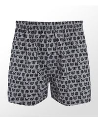 Paul Smith | Gray Monster Woven Boxer Short for Men | Lyst