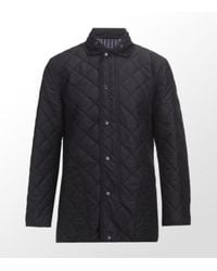 Paul Smith | Blue Quilted All Weather Jacket for Men | Lyst