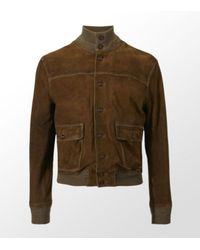 Ralph Lauren | Brown Laurel Skeet Suede Jacket for Men | Lyst