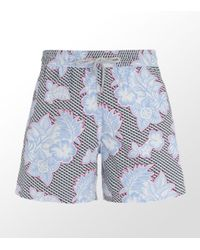 Vilebrequin | Pink Flower Moorea Swim Short for Men | Lyst