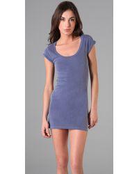 Velvet By Graham & Spencer - Blue Lynn T Shirt Mini Dress - Lyst