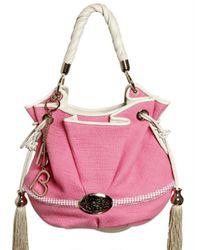Lancel | Pink Brigitte Bardot Organic Cotton Top Handl | Lyst