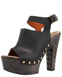 Givenchy | Black Studded Platform Clog | Lyst