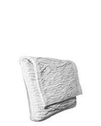 Jay Ahr | White Braided Leather Clutch | Lyst