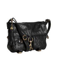 Rebecca Minkoff | Black Leather Adore Crossbody Bag | Lyst
