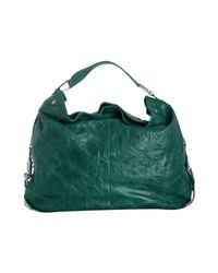 Rebecca Minkoff - Green Dark Teal Leather Nikki Shoulder Bag - Lyst
