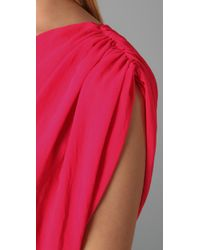 Rory Beca | Pink Tempest One Shoulder Dress | Lyst