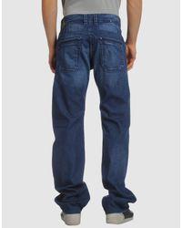 DIESEL - Blue Buster L32 Faded Straight-leg Jeans for Men - Lyst
