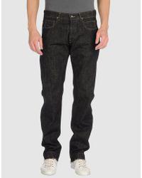 DRKSHDW by Rick Owens | Black Detroit Cut Denim Pants for Men | Lyst