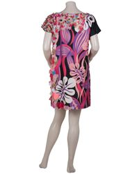 Manoush | Multicolor Tiger Print Shift Dress | Lyst